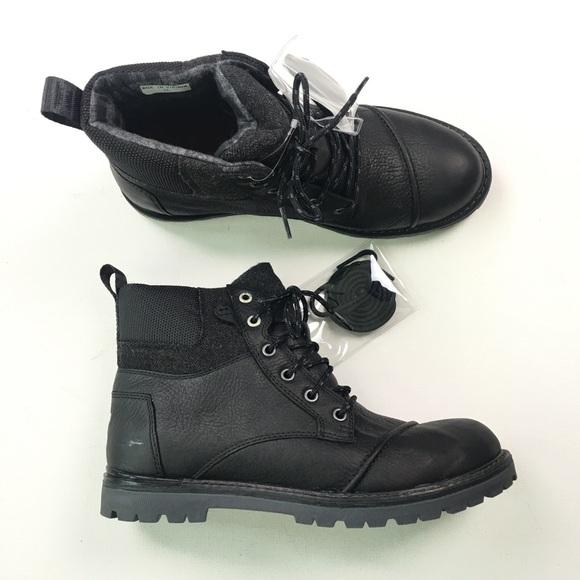 f8f64f39788 Toms Mens Black Hiking Boots 9 SR1 NWT
